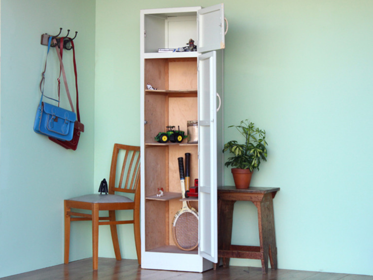 Vintage Broom Cupboard By Remploy