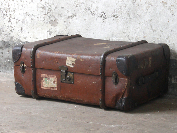 View our  Steamer Trunk from the  Old Travel Trunks collection