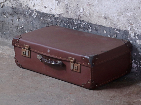 View our  Brown Vintage Suitcase from the   collection