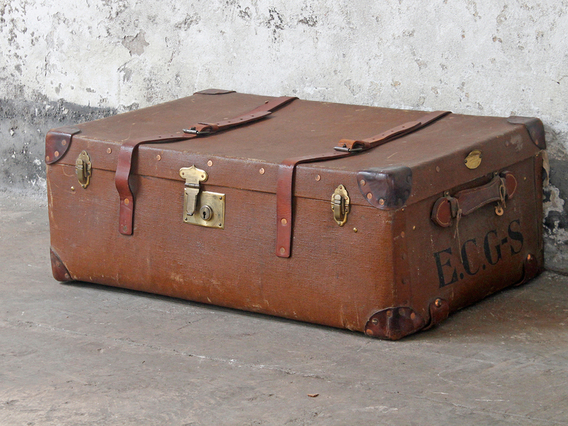 View our  Vintage Travel Trunk from the  Old Travel Trunks collection
