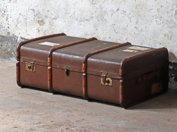 View our  Vintage Steamer Trunk from the   collection