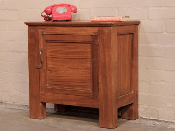 View our  Vintage Teak Cabinet from the  Blanket Box collection