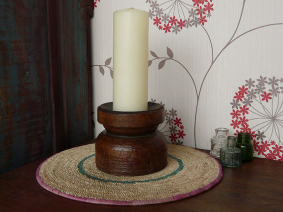 Vintage Candle Stand 734