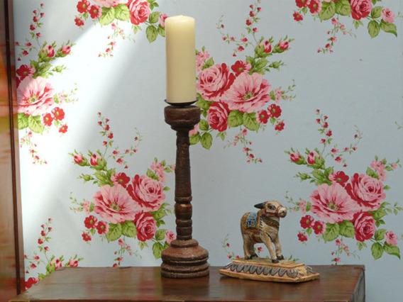 Wooden Candlestick 1