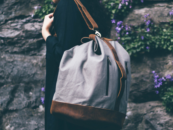 View our  Canvas Duffle Shoulder Bag from the   collection