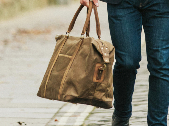View our Men Canvas Holdall For Men from the Men  collection