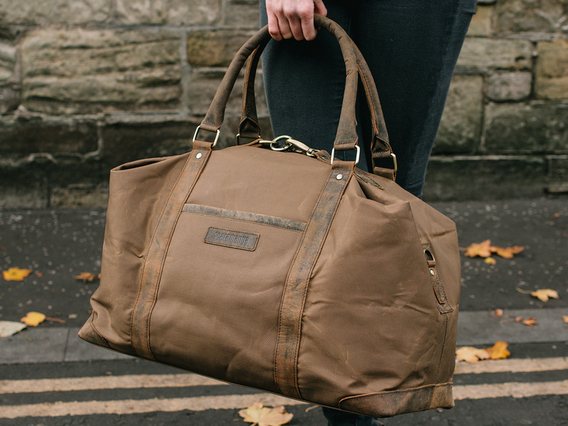 View our Women Canvas & Leather Holdall For Women from the Women  collection