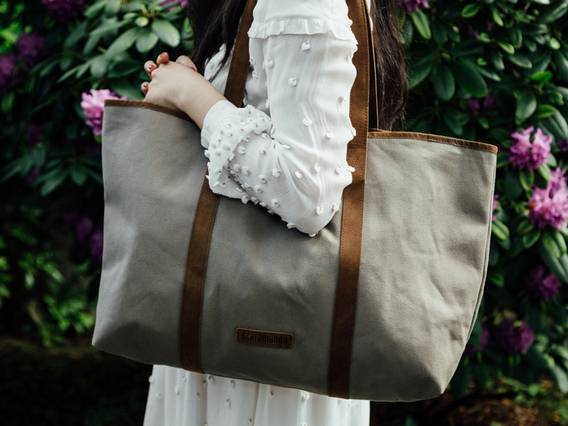 View our  Canvas Shopper Tote from the  Tote Bags collection