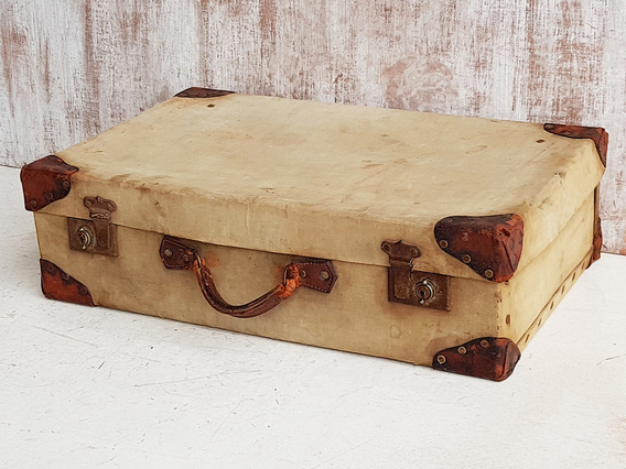 Military Canvas Suitcase