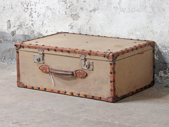 View our vintage travel trunk from the collection
