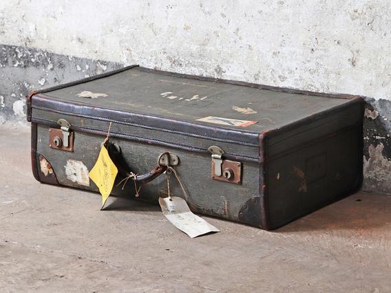 Canvas Vintage Suitcase