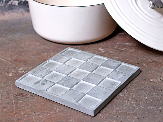 View our  Cement Square Trivet from the   collection