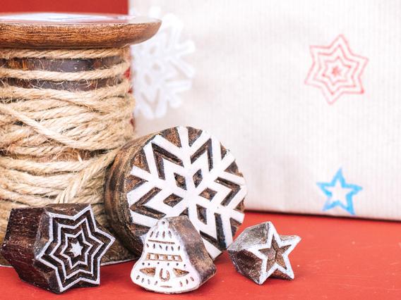 Christmas Printing Block Set