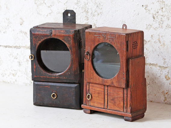 View our  Small Clock Case Cabinet from the   collection