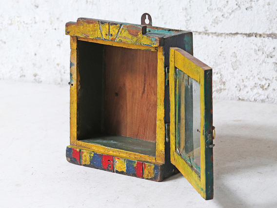 View our  Yellow Vintage Clock Case from the  Kitchen  collection