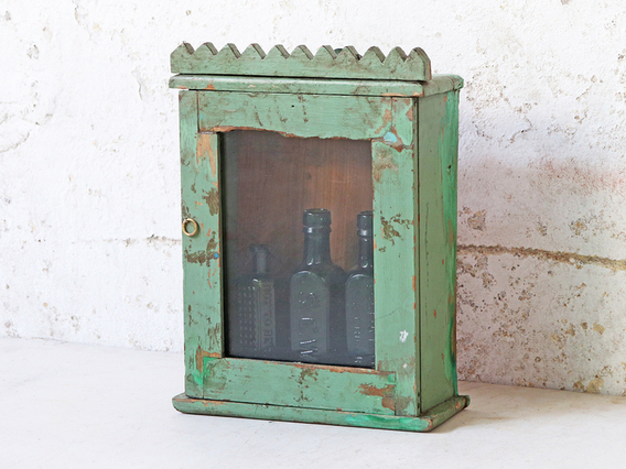 View our  Turquoise Cabinet from the  Sold collection