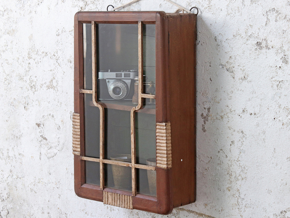 Art Deco Wall Cabinet