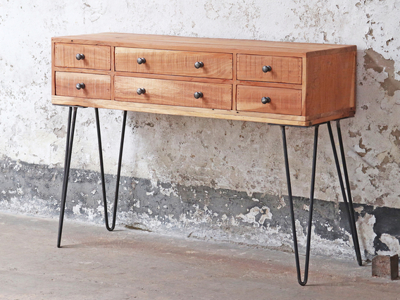 View our  Console Table - 6 Drawer from the  Bedroom Chairs collection