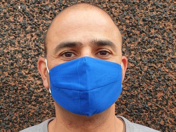 Dark Blue Face Mask