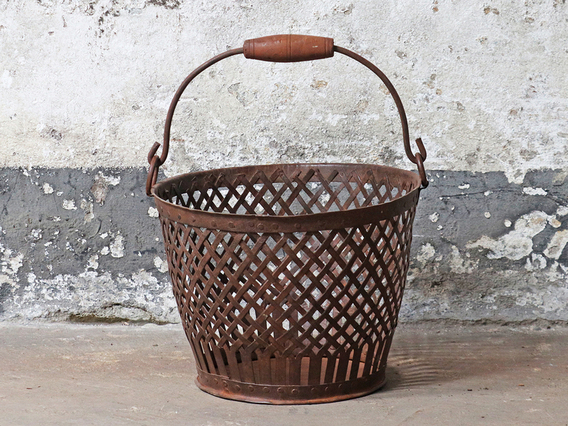 View our  Vintage Wire Basket - Large from the  Hallway collection