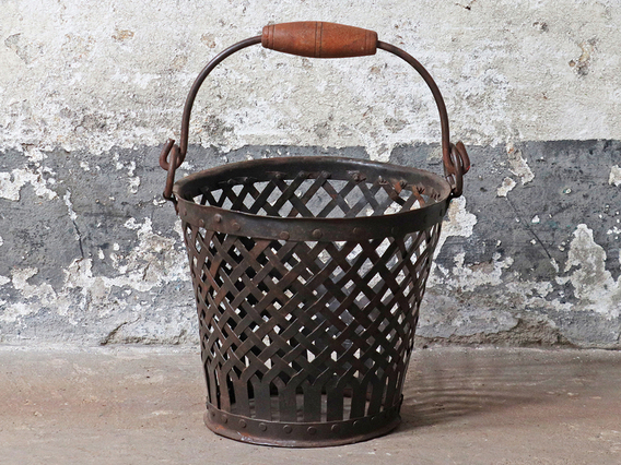 View our  Vintage Wire Basket - Small from the  Hallway collection