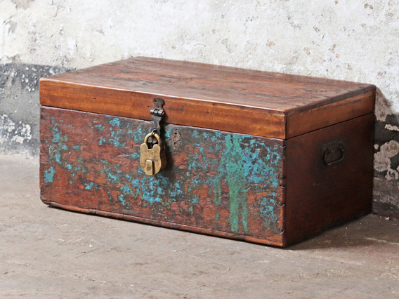 View our  Paint Distressed Chest from the  Storage Chests collection