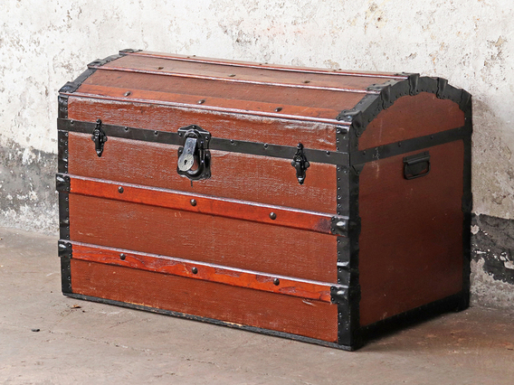 View our  Vintage Travel Trunk from the  Hallway collection