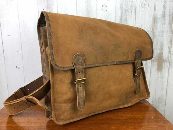 SECONDS Large Vintage Satchel 16 Inch