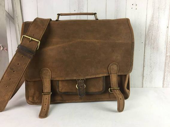 View our  SECONDS Medium Overlander Leather Satchel 16 Inch from the  Seconds & Sample Sale collection