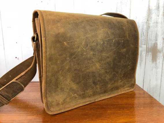 View our  SECONDS Messenger Bag Medium 15 Inch from the  Sold collection