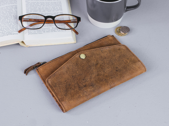 View our  Folding Leather Purse from the  Gifts For Women collection