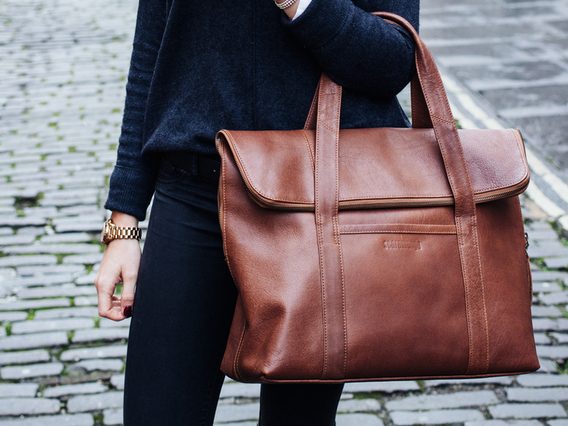 View our  The LouLou Leather Tote from the  Gifts For Women collection