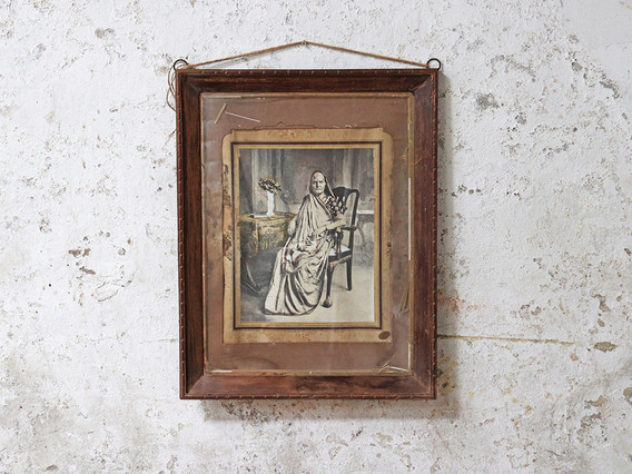 Pair Of Vintage Framed Photos