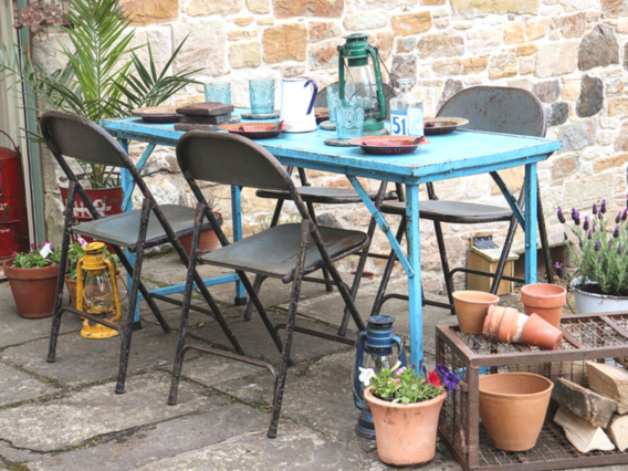 Garden Vintage Table and Chairs Set