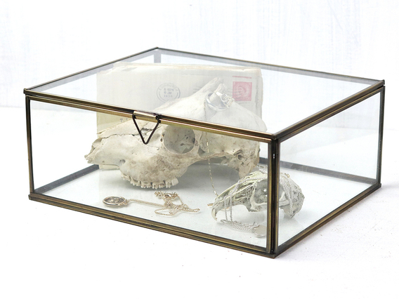 View our  Glass Jewellery Box - Large from the  Gifts For The Home collection