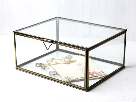 View our  Glass Jewellery Box - Small from the   collection