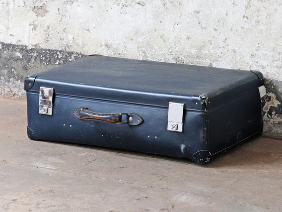 View our  Vintage Globetrotter Suitcase from the  Sold collection