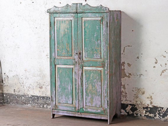 Vintage Shabby Chic Amoire