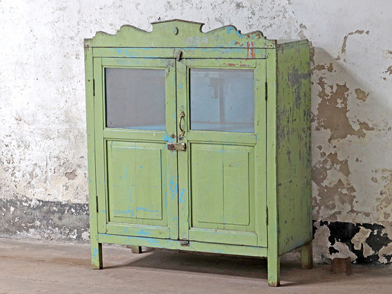 Green Vintage Cupboard
