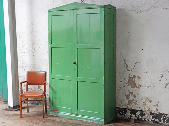 View our  Large Green Vintage Cupboard from the   collection