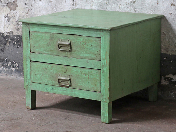 View our  Green Drawer Cabinet from the  Vintage Cabinets & Storage Cupboards collection