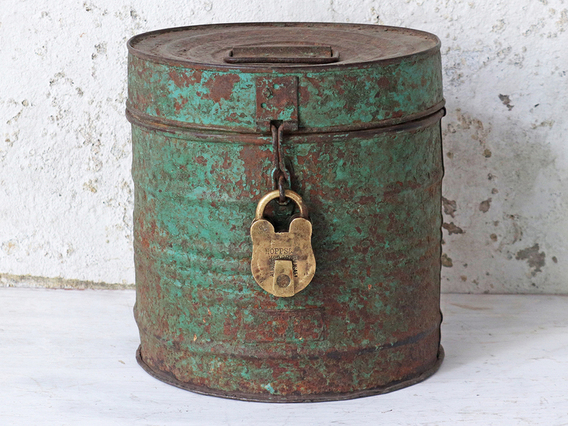 View our  Green Metal Tin from the  Sold collection