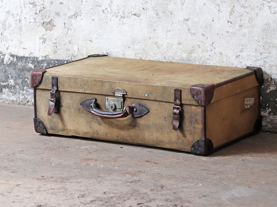 View our  Classic Canvas Suitcase from the   collection