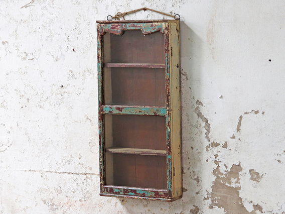 View our  Shabby Chic Vintage Wall Cabinet from the  Display Cabinets collection