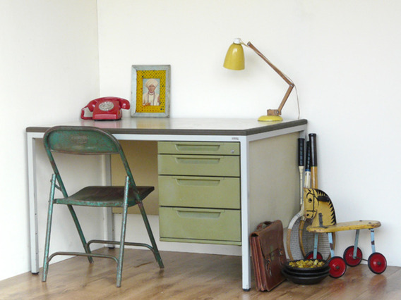 View our  Retro Metal Desk from the   collection