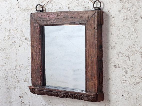 View our  Wooden Wall Mirror  from the  Gifts For The Home collection