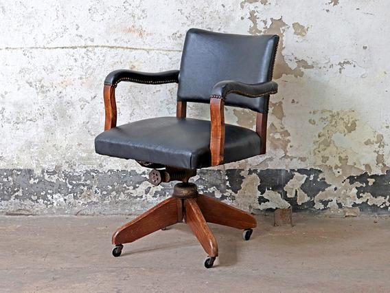 Vintage Hillcrest Office Chair