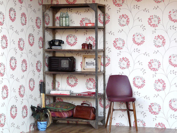 View our  Vintage Industrial Metal Shelving from the   collection