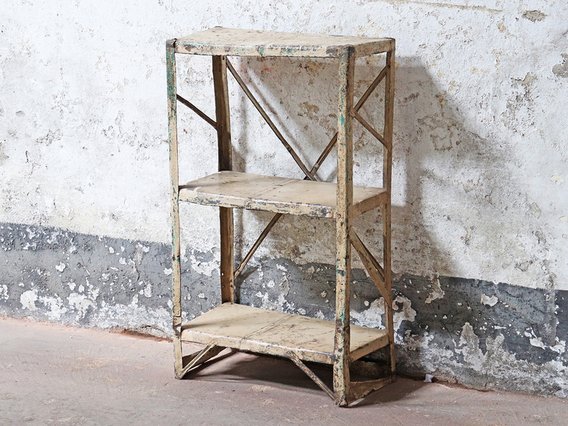 View our Metal Shelf Rack from the Shabby Chic Bedroom Furniture collection