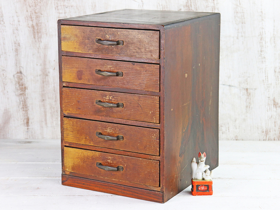 View our  Vintage Japanese Chest of Drawers from the  Hallway collection
